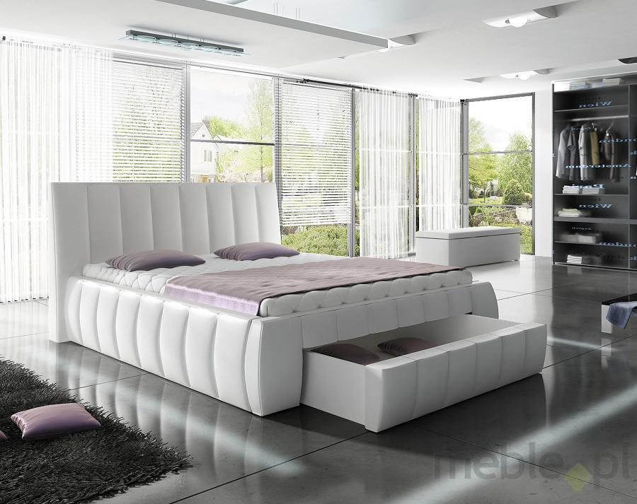 Jakie produkowane łóżka z szufladami są dziś modne?