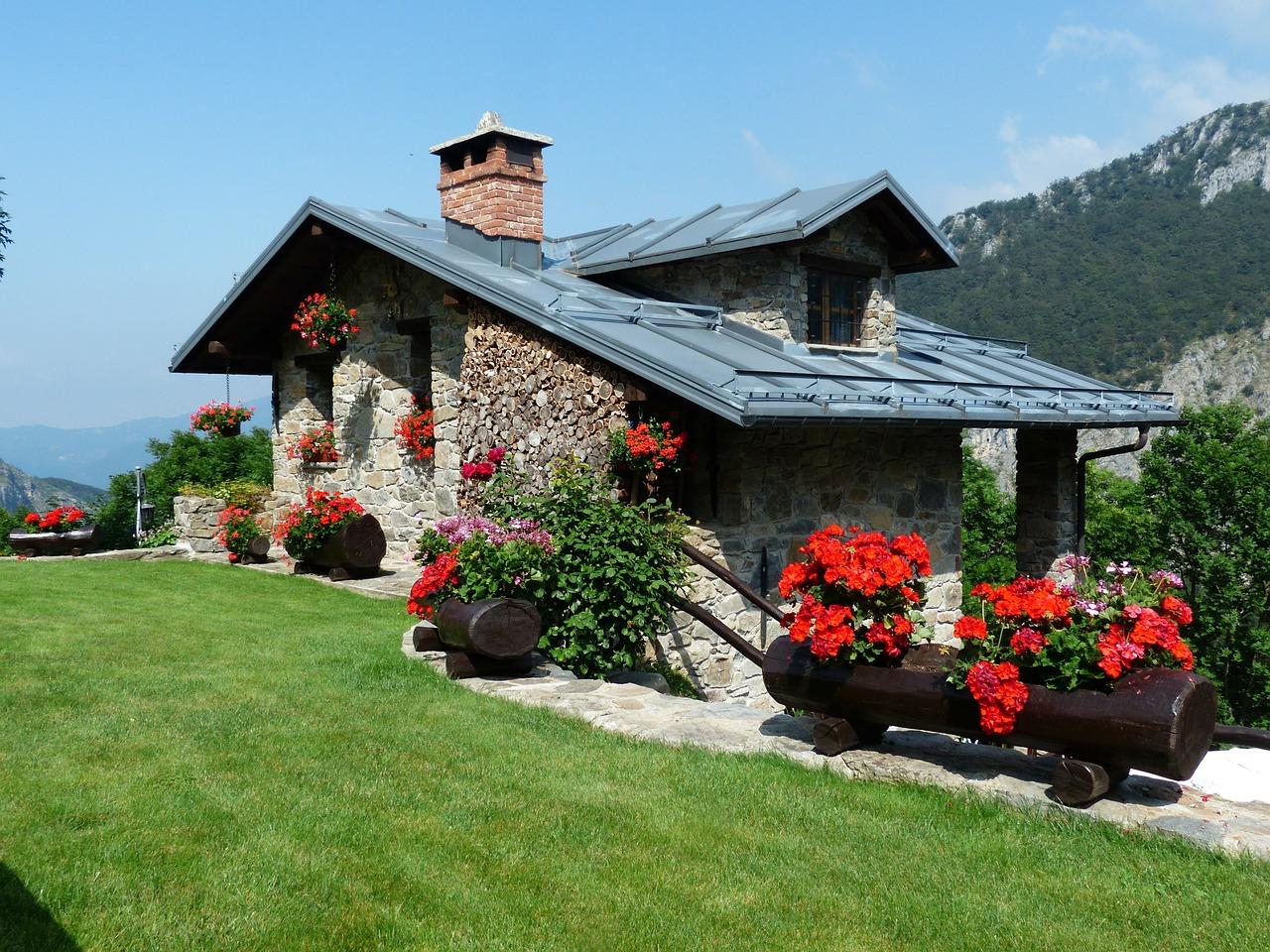 Odpowiedni ogród doskonałym uzupełnieniem każdego domu