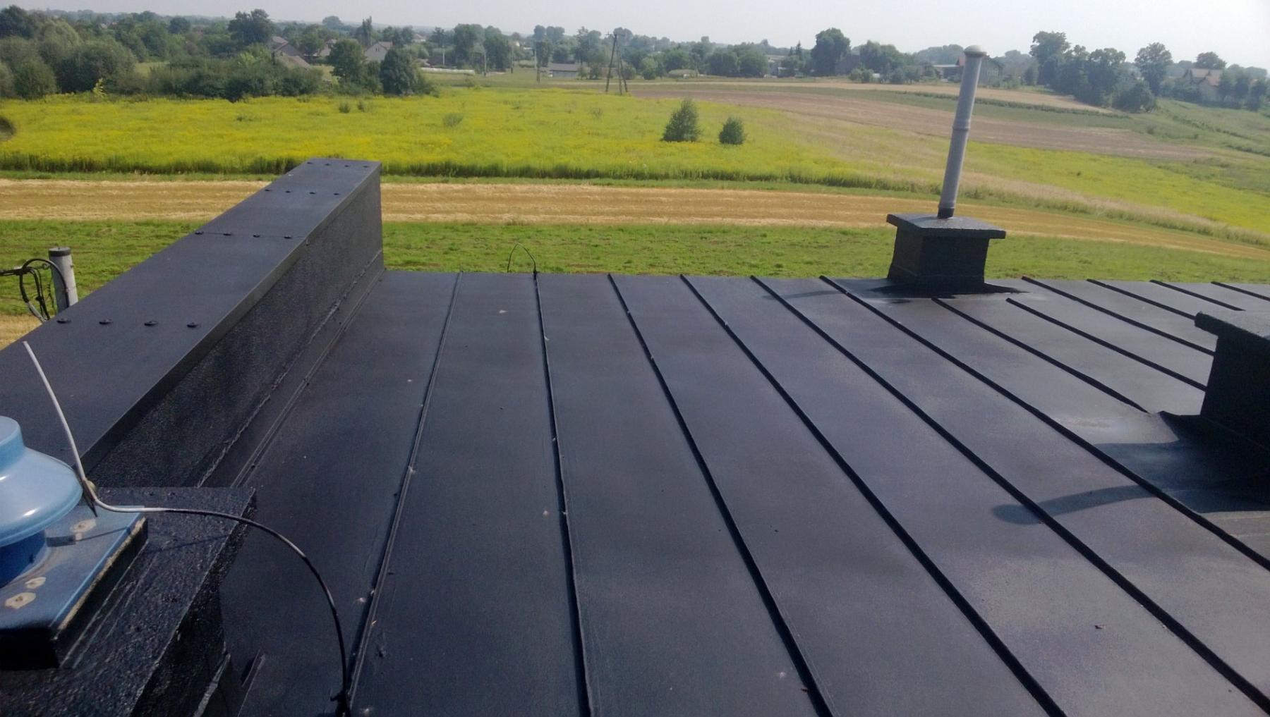 uszczelnienie przeciekającego dachu
